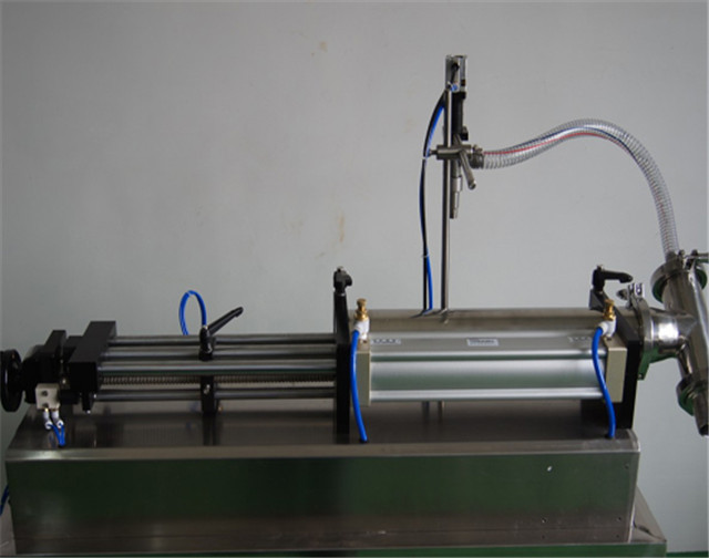 horizontal liquid filling machine fully pneumatic semi automatic shampoo ointment filler equipment