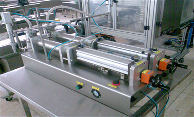 fully pneumatic dual heads 1 gallon flammable liquid filling machine semi automatic tabletop liquid filler