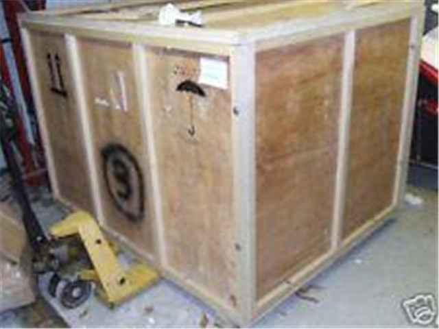 wooden crate packaging of the Vertical filling machine  with