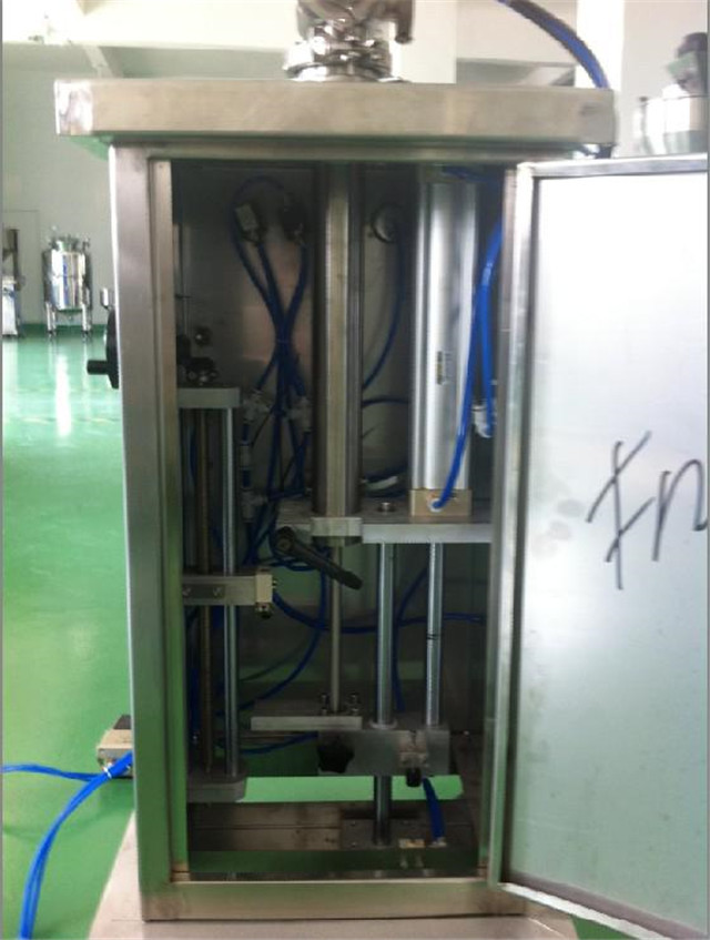 internal structure of the Vertical filling machine  with 2 h